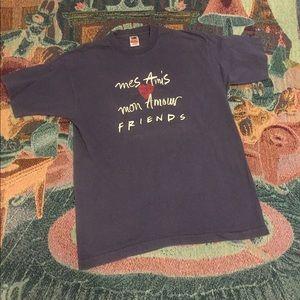 Vintage friends tv show single stitch tee shirt